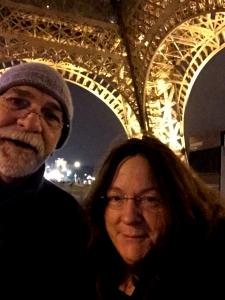 Under the Eiffel at Midnight