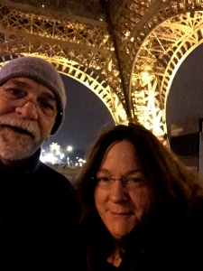 Under the Eiffel at Midnight